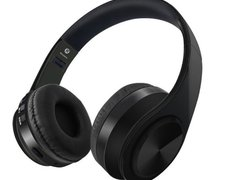 Casti Bluetooth Wireless W802 negru OVER EAR